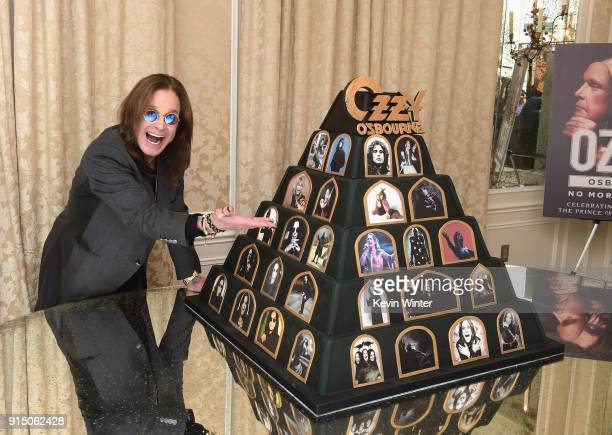 Ozzy Osbourne Announces 'No More Tours 2' Final World Tour at Press Conference at his Los Angeles Home on February 6 2018 in Los Angeles California