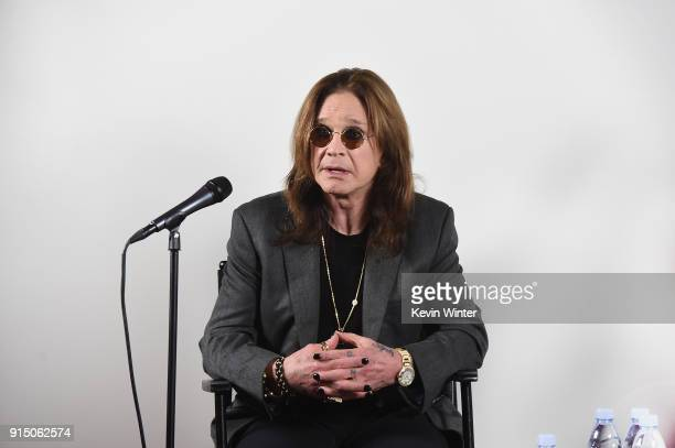 Ozzy Osbourne Announces No More Tours 2 Final World Tour at Press Conference at his Los Angeles Home on February 6 2018 in Los Angeles California