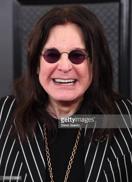 Ozzy Osbourne arrives at the 62nd Annual GRAMMY Awards at Staples Center on January 26, 2020 in Los Angeles, California.