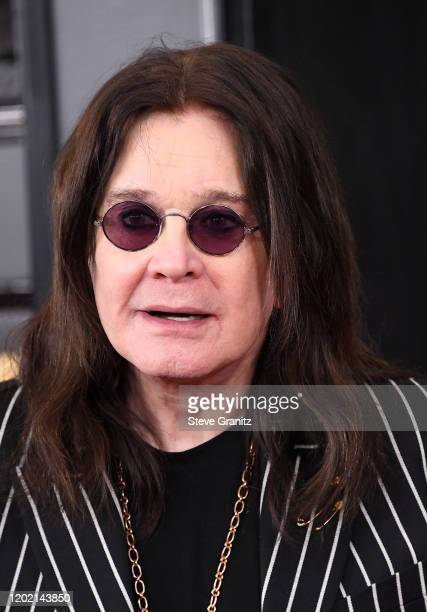 Ozzy Osbourne attends the 62nd Annual GRAMMY Awards at Staples Center on January 26, 2020 in Los Angeles, California.