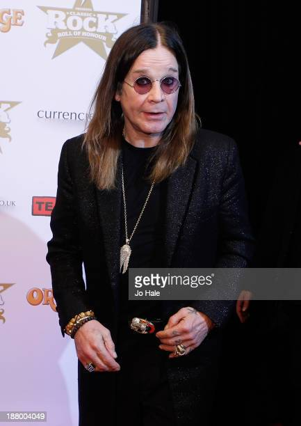 Ozzy Osbourne attends the Classic Rock Roll of Honour at The Roundhouse on November 14 2013 in London England