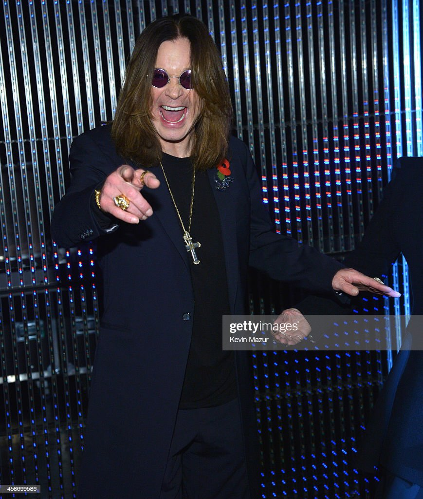 Ozzy Osbourne attends the MTV EMA's 2014 at The Hydro on November 9, 2014 in Glasgow, Scotland.
