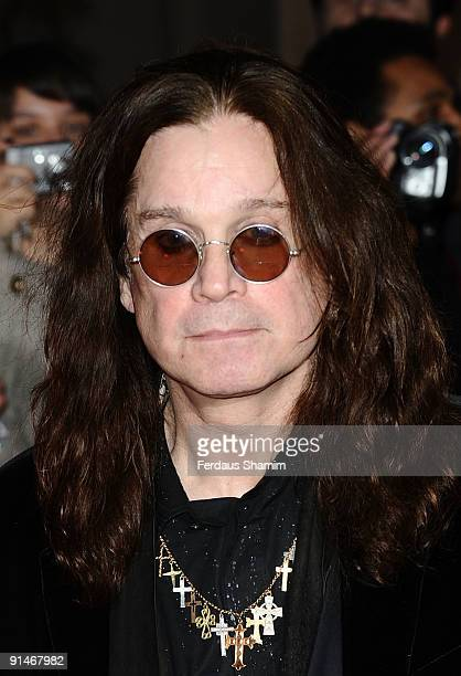 Ozzy Osbourne attends the Pride Of Britain Awards at Grosvenor House on October 5 2009 in London England