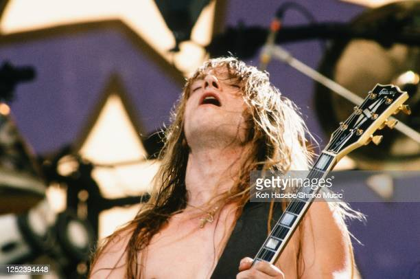 Ozzy Osbourne Band, live, Moscow Music Peace Festival 1989 at Luzhniki Stadium, Moscow, USSR, 12th and 13th August, 1989. Zakk Wylde .