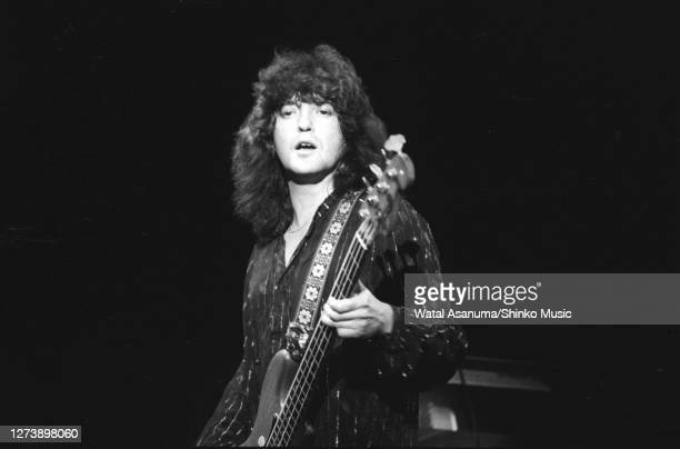 Ozzy Osbourne band performs on stage on the 'Blizzard Of Ozz' tour United Kingdom SeptemberOctober 1980 Bob Daisley