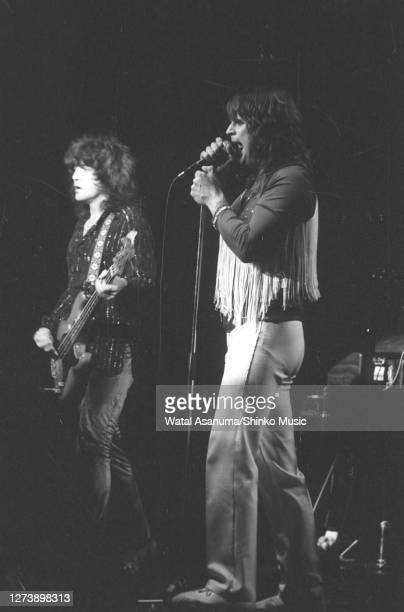 Ozzy Osbourne band performs on stage on the 'Blizzard Of Ozz' tour United Kingdom SeptemberOctober 1980Bob Daisley Ozzy Osbourne