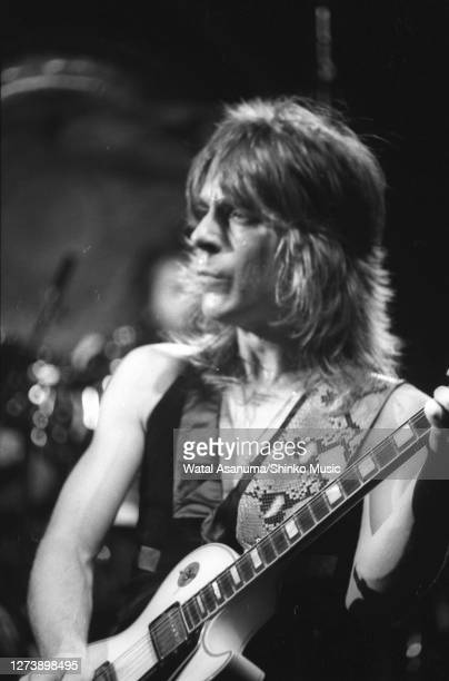 Ozzy Osbourne band performs on stage on the 'Blizzard Of Ozz' tour United Kingdom SeptemberOctober 1980 Randy Rhoads