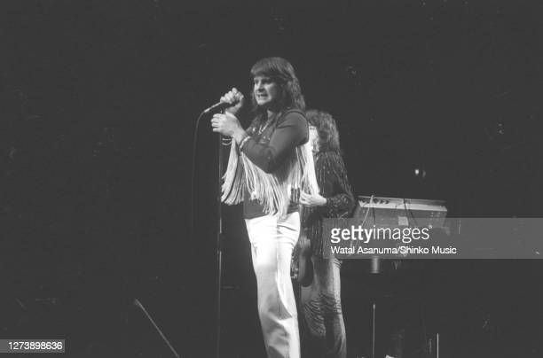 Ozzy Osbourne band performs on stage on the 'Blizzard Of Ozz' tour United Kingdom SeptemberOctober 1980 Ozzy Osbourne Bob Daisley