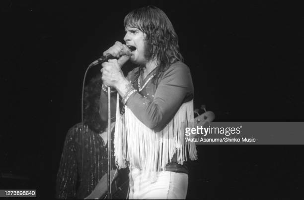 Ozzy Osbourne band performs on stage on the 'Blizzard Of Ozz' tour United Kingdom SeptemberOctober 1980 Ozzy Osbourne