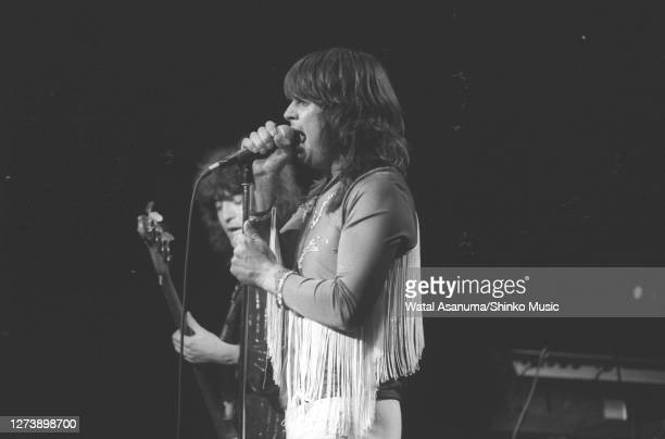 Ozzy Osbourne band performs on stage on the 'Blizzard Of Ozz' tour United Kingdom SeptemberOctober 1980 Bob Daisley Ozzy Osbourne