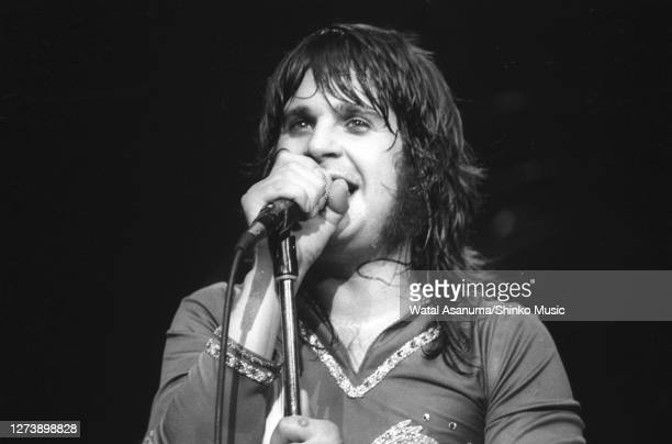 Ozzy Osbourne band performs on stage on the 'Blizzard Of Ozz' tour United Kingdom SeptemberOctober 1980Ozzy Osbourne