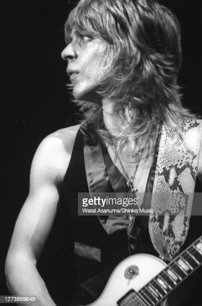 Ozzy Osbourne band performs on stage on the 'Blizzard Of Ozz' tour United Kingdom SeptemberOctober 1980Randy Rhoads