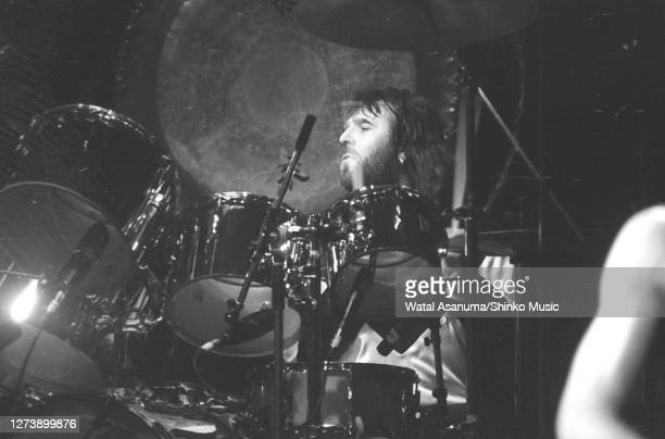 Ozzy Osbourne band performs on stage on the 'Blizzard Of Ozz' tour United Kingdom SeptemberOctober 1980 Lee Kerslake