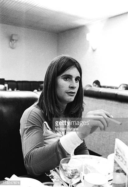 Ozzy Osbourne Black Sabbath portrait London 1973