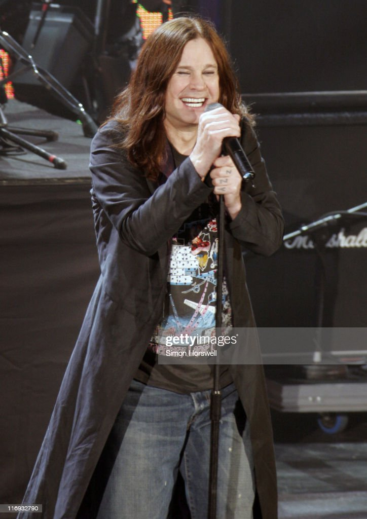 Ozzy Osbourne during Prince's Trust 30th Live - Show at Tower of London in London, Great Britain.