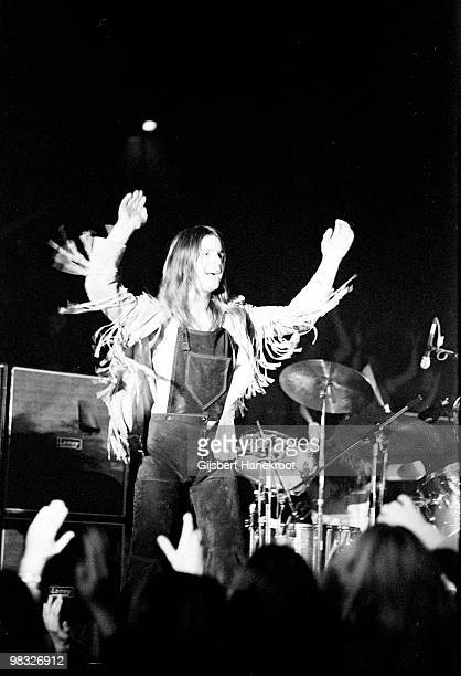 Ozzy Osbourne from Black Sabbath performs live on stage at Paradiso in Amsterdam Holland on December 04 1971