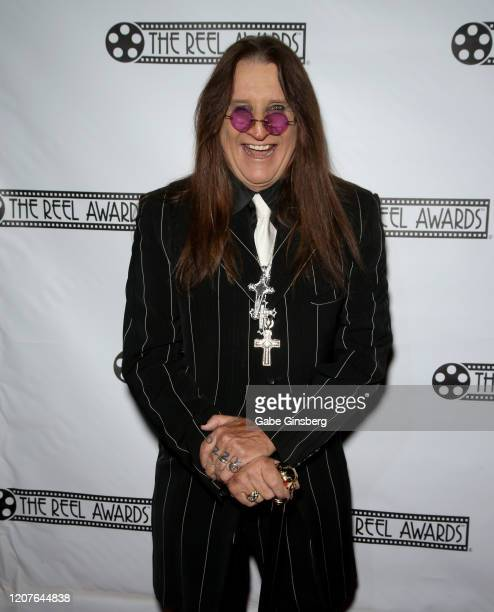 Ozzy Osbourne impersonator Don Rugg attends The Reel Awards 2020 at Marilyn's Lounge inside the Eastside Cannery Casino Hotel on February 20, 2020 in...
