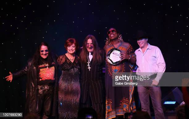 Ozzy Osbourne impersonator Sergio Casasanta, Sharon Osbourne impersonator Caroline Bernstein, Ozzy Osbourne impersonator Don Rugg, Stevie Wonder...