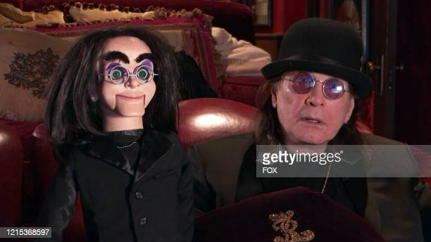 """Ozzy Osbourne in the The Watch Party Has Begun"""" series premiere episode of CELEBRITY WATCH PARTY airing Thursday, May 7 on FOX."""