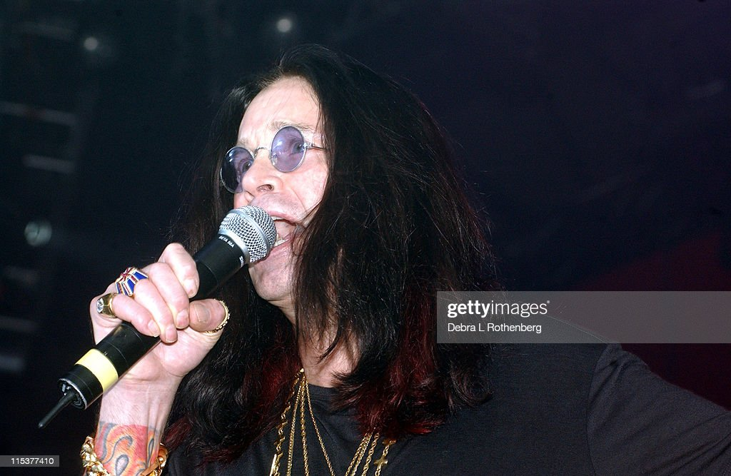 Ozzy Osbourne introduces his daughter Kelly Osbourne