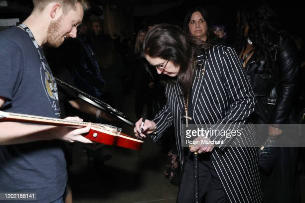 Ozzy Osbourne is seen at the GRAMMY Charities Signings during the 62nd Annual GRAMMY Awards at STAPLES Center on January 26, 2020 in Los Angeles,...