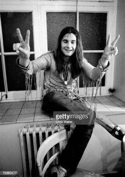 Ozzy Osbourne of Black Sabbath 1971