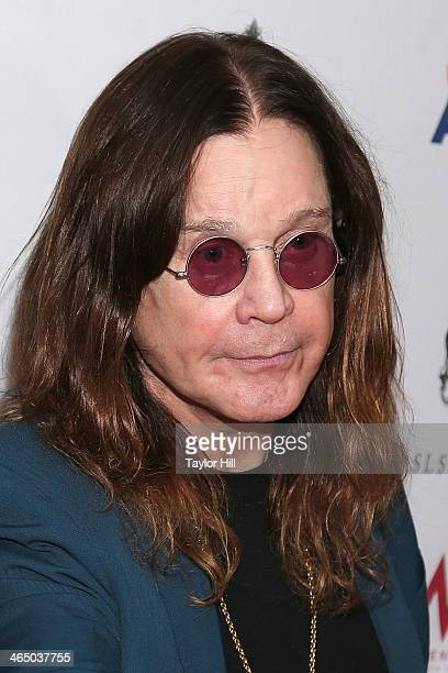 Ozzy Osbourne of Black Sabbath attends ASCAP's 2014 Grammy Nominee Brunch at SLS Hotel on January 25 2014 in Beverly Hills California