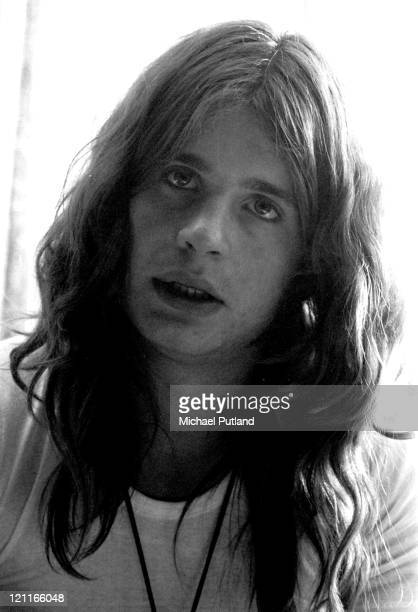 Ozzy Osbourne of Black Sabbath portrait London 1972