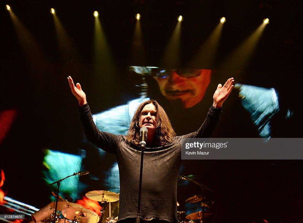 "Black Sabbath ""The End"" Tour - New York : News Photo"