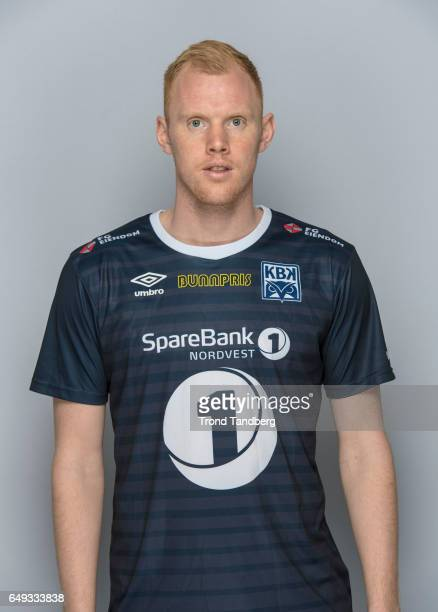 Paal Erik Ulvestad of Team Kristiansund BK on March 7 2017 in Kristiansund Norway