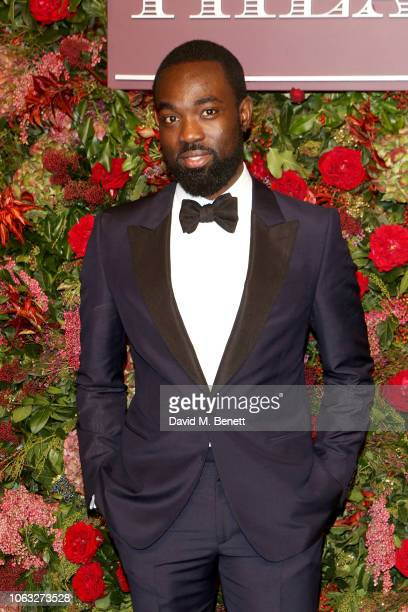 Paapa Essiedu arrives at The 64th Evening Standard Theatre Awards at the Theatre Royal Drury Lane on November 18 2018 in London England