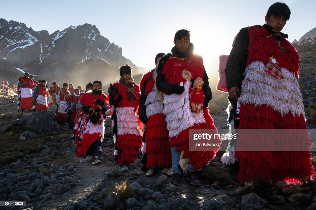 Andean Indigenous Cultures Adapt To A Changing Climate : News Photo