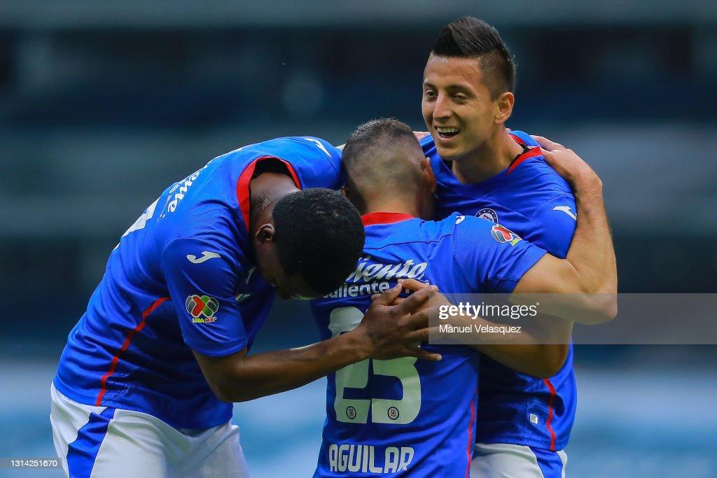 Cruz Azul v Atletico San Luis - Torneo Guard1anes 2021 Liga MX : News Photo
