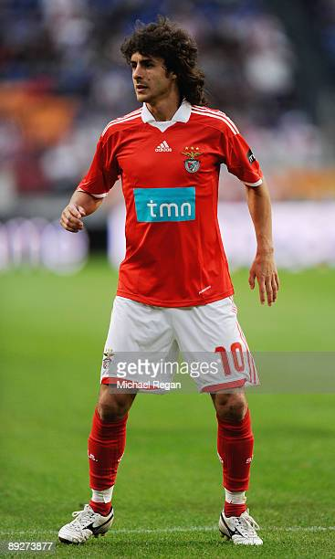 Pablo Aimar of Benfica during the Amsterdam Tournament match between Sunderland and Benfica at the Amsterdam Arena on July 24 2009 in Amsterdam...