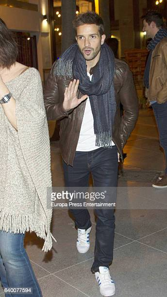 Pablo Alboran attends Celia Flores concert '20 years from Marisol to Pepa Flores' at Cervantes Theatre on December 23 2016 in Malaga Spain