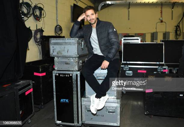 Pablo Alboran attends Person of the Year Rehearsals and the Pepsi Backstage Lounge during the 19th annual Latin GRAMMY Awards at the Mandalay Bay...
