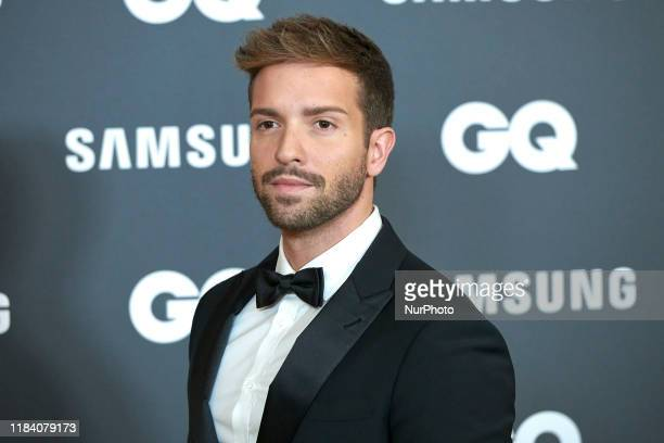 Pablo Alboran attends the GQ Men Of The Year Awards 2019 photocall at The Westin Palace Hotel in Madrid Spain on Nov 21 2019