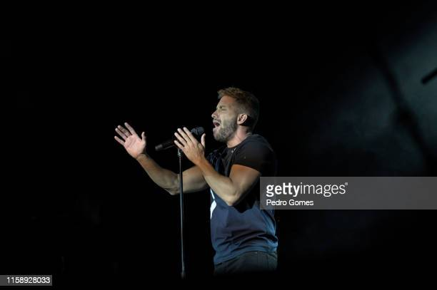 Pablo Alboran performs at Campo Pequeno on June 28 2019 in Lisbon Portugal