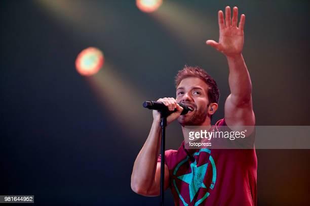 Pablo Alboran performs in concert at Coliseum on June 22 2018 in A Coruna Spain