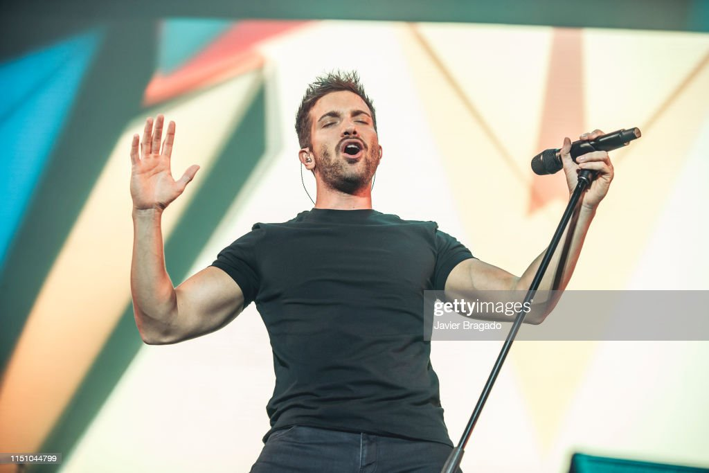 ESP: Pablo Alboran Performs In Concert In Madrid