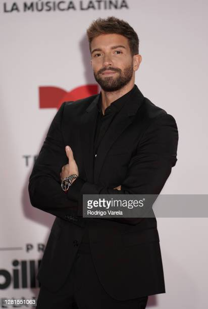 Pablo Alborán attends the 2020 Billboard Latin Music Awards at BB&T Center on October 21, 2020 in Sunrise, Florida.