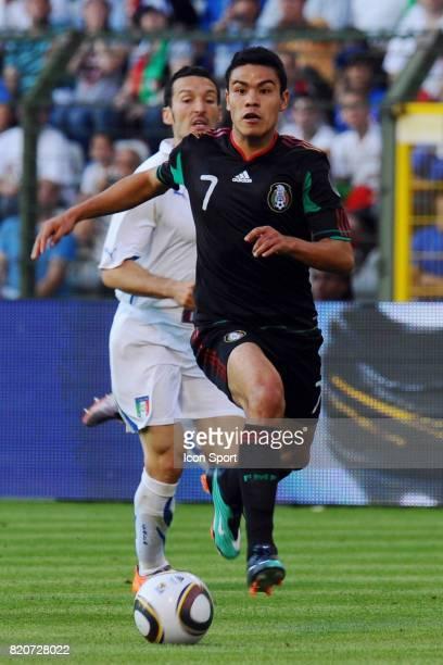 Pablo BARRERA Mexique / Italie Match amical a Bruxelles Preparation a la Coupe du Monde 2010 Stade Roi Baudouin