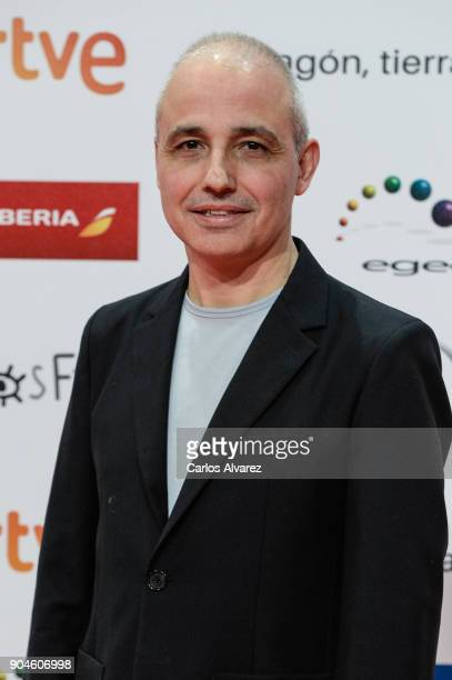 Pablo Berger attends the 23rd edition of Jose Maria Forque Awards at Palacio de Congresos on January 13 2018 in Zaragoza Spain