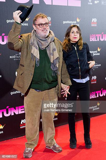 Pablo Carbonell attends 'Los Del Tunel' premiere during the Madrid Premiere Week at Callao Cinema on November 21 2016 in Madrid Spain