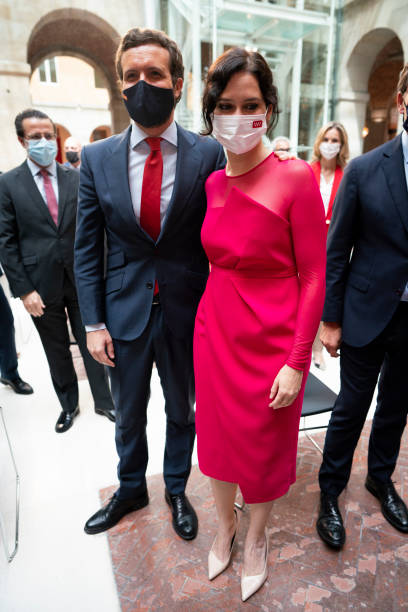 ESP: Isabel Diaz Ayuso, President Of The Community Of Madrid