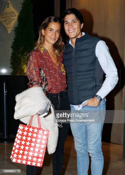 Pablo Castellanos attend the celebration of Maria Pombo's 24th birthday on October 17 2018 in Madrid Spain