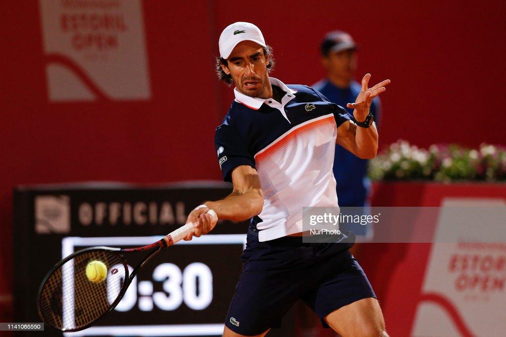 Frances Tiafoe v Pablo Cuevas - Estoril Open 2019 : News Photo