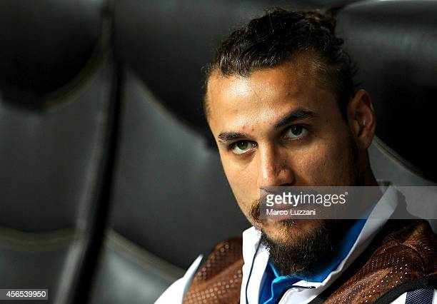 Pablo Daniel Osvaldo of FC Internazionale Milano looks on before the UEFA Europa League group F match between FC Internazionale Milano and Qarabag FK...