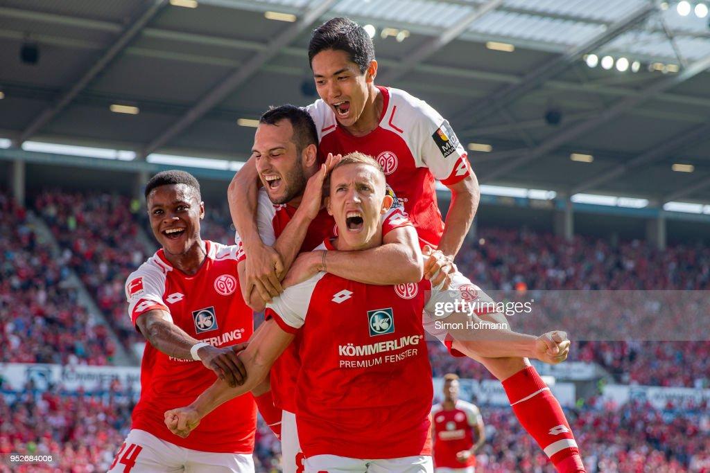 1. FSV Mainz 05 v RB Leipzig - Bundesliga : ニュース写真