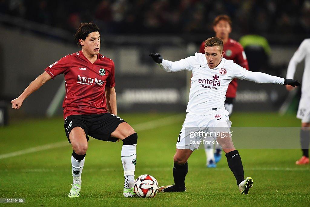 Hannover 96 v 1. FSV Mainz 05 - Bundesliga : News Photo